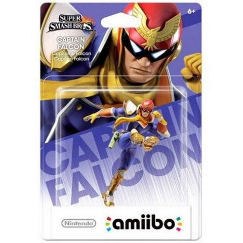 Captain Falcon Amiibo - Super Smash Bros. Series [Nintendo Accessory]