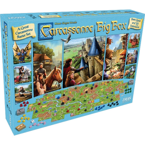 Carcassonne Big Box - 6th Edition [Board Game, 2-6 Players]
