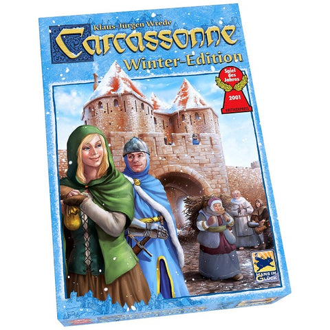 Carcassonne: Winter Edition [Board Game, 2-5 Players]