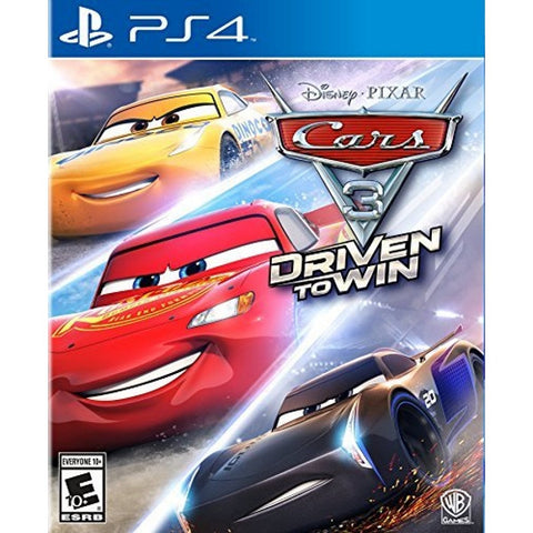 Cars 3: Driven to Win [PlayStation 4]