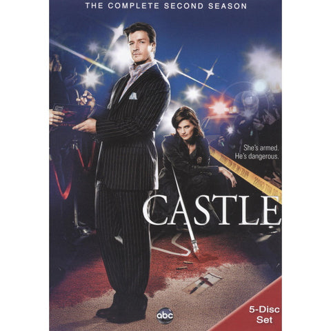 Castle: The Complete Second Season [DVD Box Set]