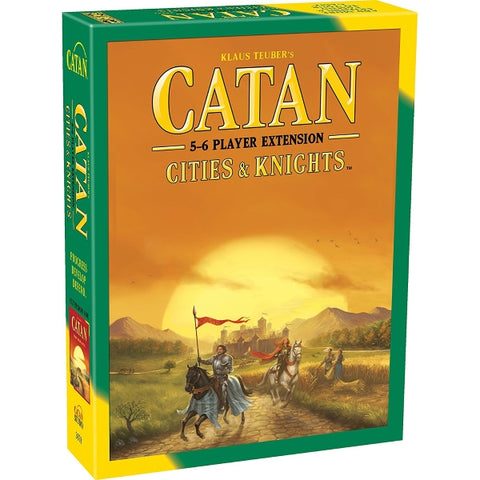 Catan: Cities & Knights - 5-6 Player EXTENSION - 5th Edition [Board Game, 5-6 Players]