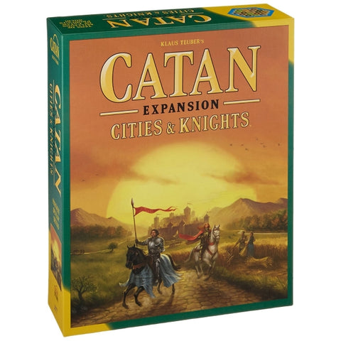 Catan: Cities & Knights Expansion [Board Game, 3-4 Players]