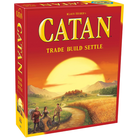 The Settlers Of Catan - 5th Edition [Board Game, 3-4 Players]