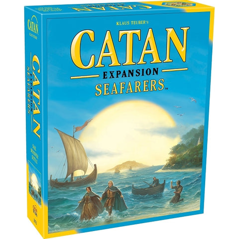 Catan: Seafarers Expansion [Board Game, 3-4 Players]