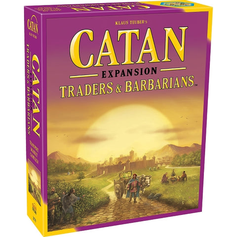 Catan: Traders and Barbarians Expansion - 5th Edition [Board Game, 2-4 Players]