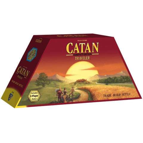 Catan: Traveler - Compact Edition [Board Game, 2-4 Players]