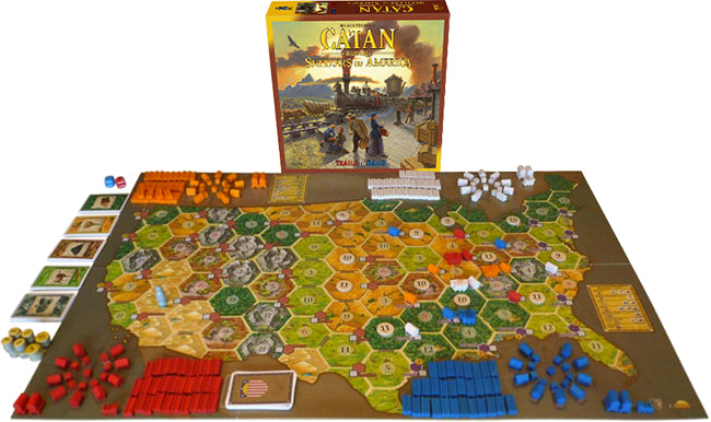 Catan Histories: Settlers of America [Board Game, 3-4 Players]