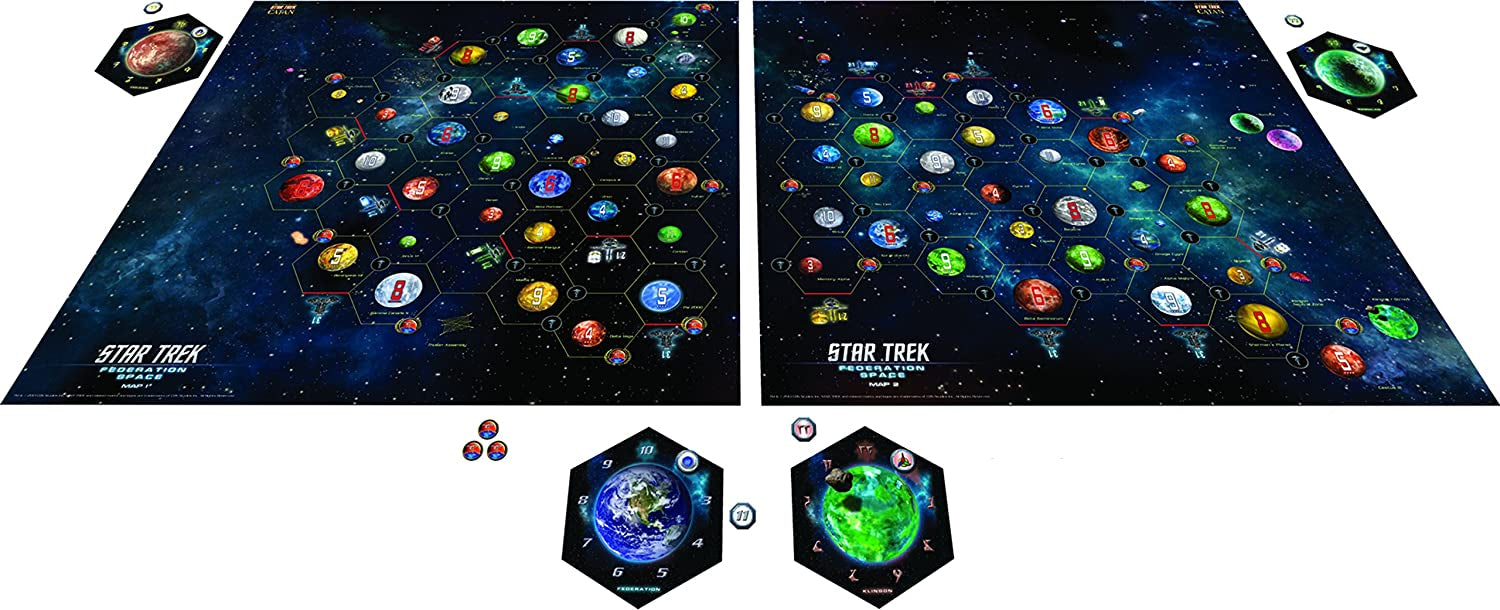 Catan: Star Trek Federation Space Expansion [Board Game, 3-4 Players]
