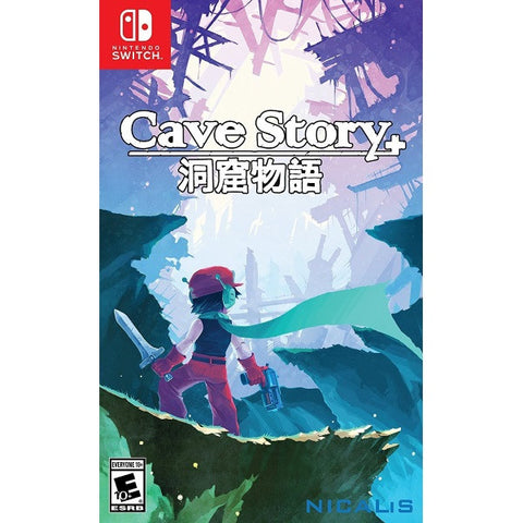Cave Story + Launch Edition w/ Bonus CD Booklet [Nintendo Switch]