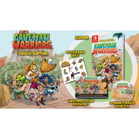 Caveman Warriors - Deluxe Edition [Nintendo Switch]