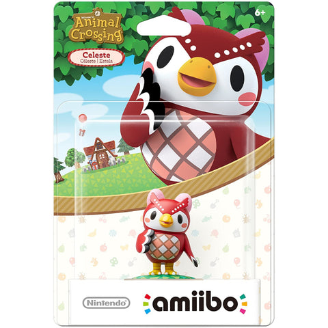 Celeste Amiibo - Animal Crossing Series [Nintendo Accessory]