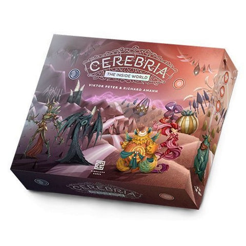 Cerebria: The Inside World [Board Game, 1-4 Players]