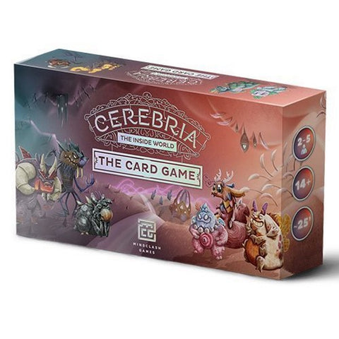 Cerebria: The Inside World - The Card Game [Card Game, 2-5 Players]