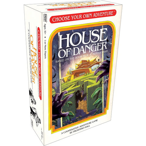 Choose Your Own Adventure: House of Danger [Board Game, 1+ Players]