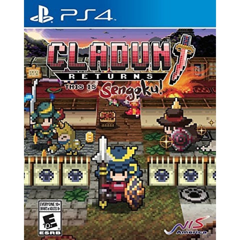 ClaDun Returns: This is Sengoku! [PlayStation 4]