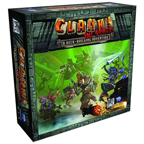 Clank! In! Space! - A Deck-Building Adventure [Board Game, 2-4 Players]