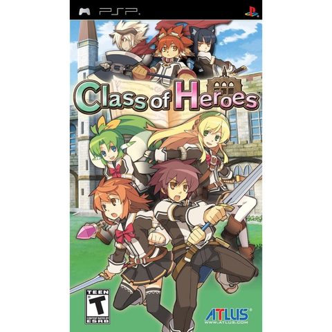 Class Of Heroes [Sony PSP]
