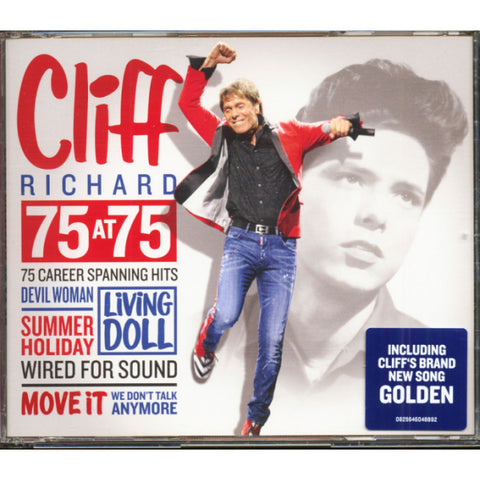 Cliff Richard - 75 At 75 [Audio CD]