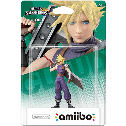 Cloud Amiibo - Super Smash Bros. Series [Nintendo Accessory]