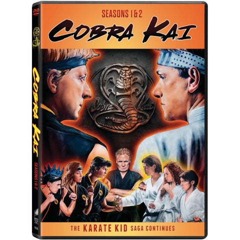 Cobra Kai: Seasons 1 and 2 [DVD Box Set]