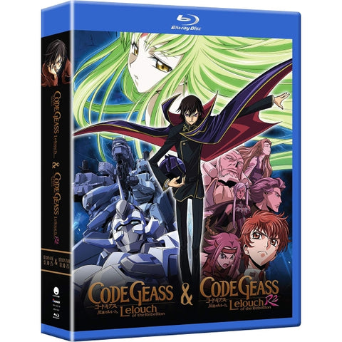 Code Geass: Lelouch of Rebellion: The Complete Series  [Blu-Ray + Digital Box Set]