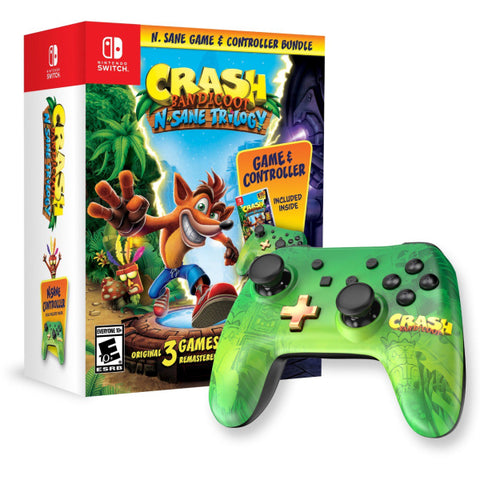 Crash Bandicoot N. Sane Trilogy & Controller Bundle [Nintendo Switch]