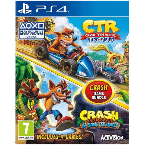 Crash Team Racing: Nitro-Fueled / Crash Bandicoot N. Sane Trilogy [PlayStation 4]