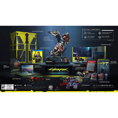 Cyberpunk 2077 - Collector's Edition [PlayStation 4]