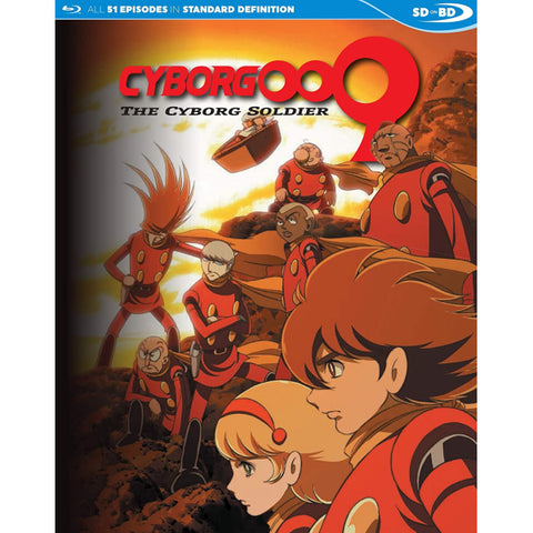 Cyborg 009: The Cyborg Soldier - The Complete Series [Blu-Ray Box Set]