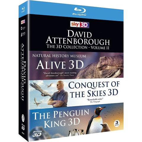 David Attenborough: The 3D Collection - Volume 2 [Blu-Ray 3D Box Set]