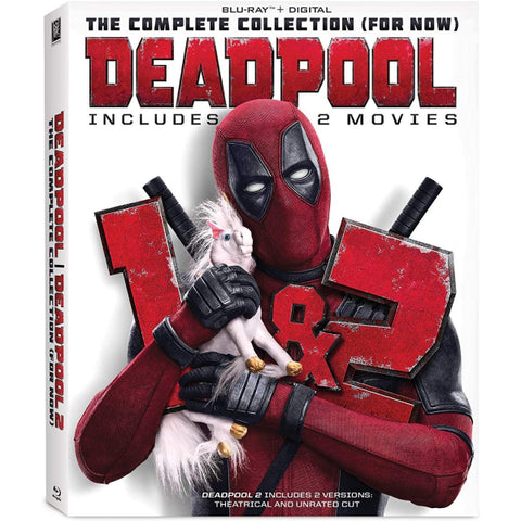 Deadpool 1 + 2 [Blu-ray + Digital Box Set]
