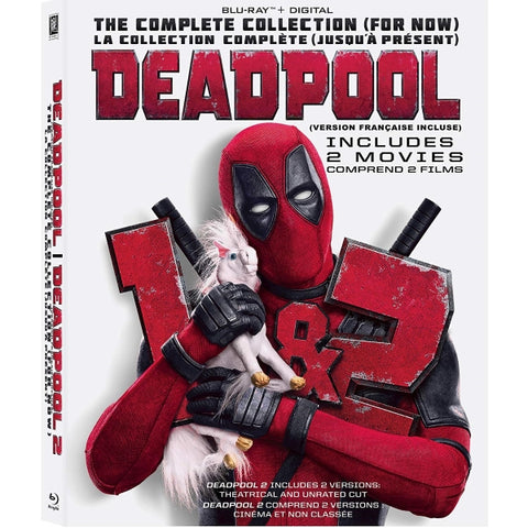 Deadpool 2-Movie Collection [Blu-Ray + Digital 2-Movie Collection]