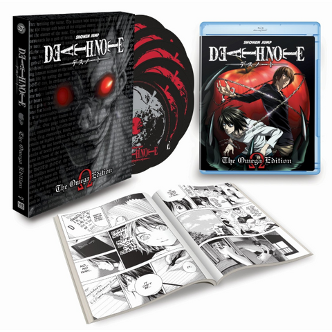 Death Note: The Omega Edition [Blu-Ray Box Set]