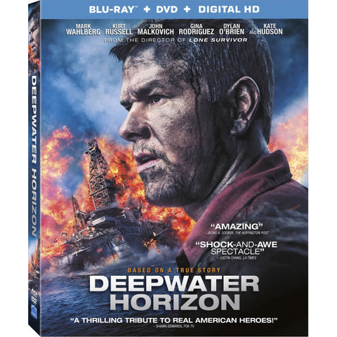 Deepwater Horizon [Blu-ray + DVD + Digital]