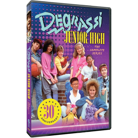 Degrassi Junior High: The Complete Series - Seasons 1-3 [DVD Box Set]