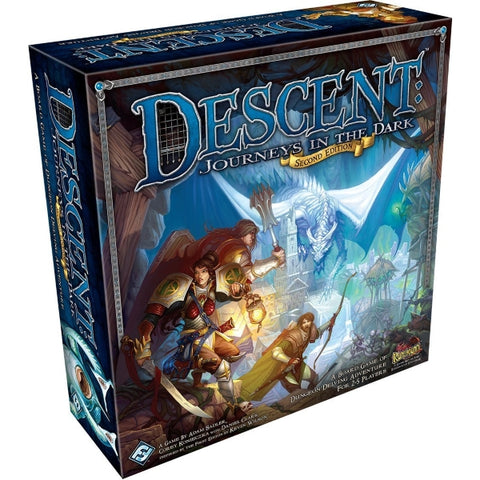 Descent: Journeys in the Dark - Second Edition [Board Game, 2-5 Players]