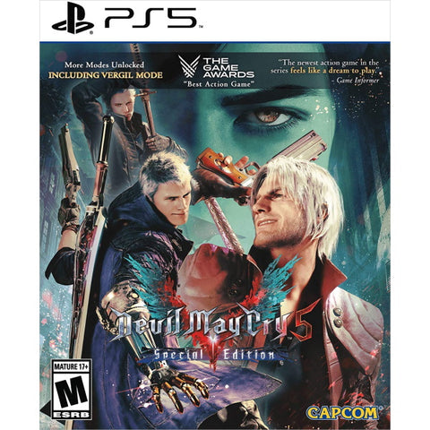 Devil May Cry 5: Special Edition [PlayStation 5]