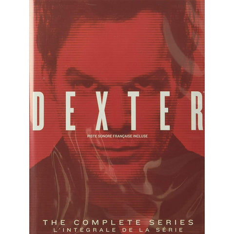 Dexter: The Complete Series - Seasons 1-8 [DVD Box Set]