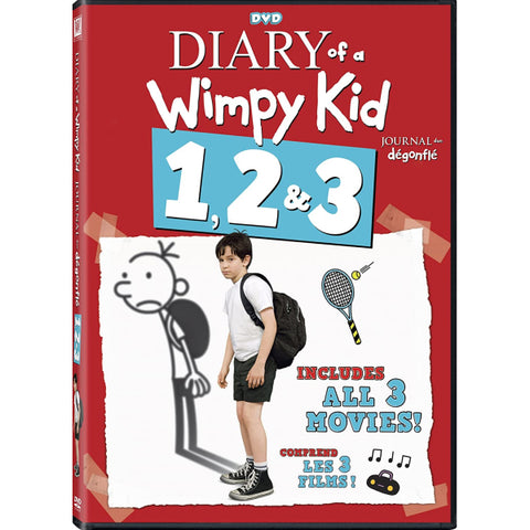 Diary of a Wimpy Kid 1, 2 & 3 [DVD Box Set]