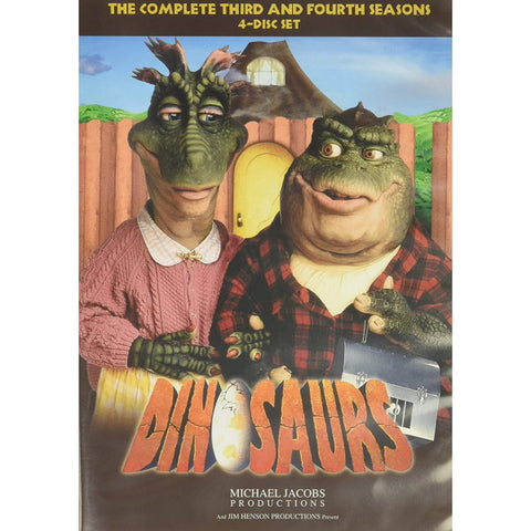 Dinosaurs: The Complete Third and Fourth Seasons [DVD Box Set]