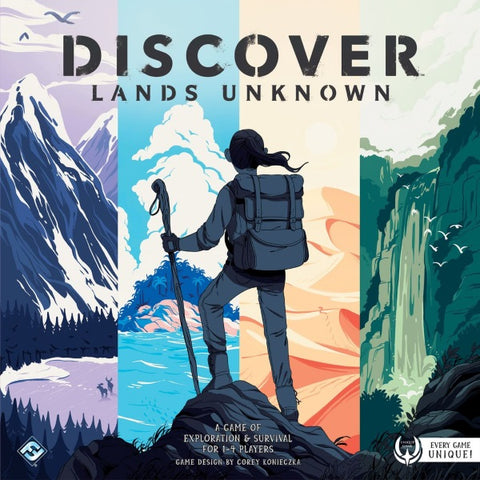 Discover: Lands Unknown [Board Game, 1-4 Players]