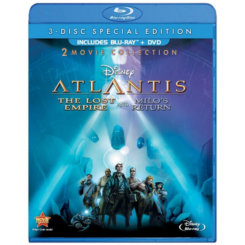 Disney's Atlantis: The Lost Empire & Atlantis: Milo's Return - Special Edition [Blu-Ray 2-Movie Collection]