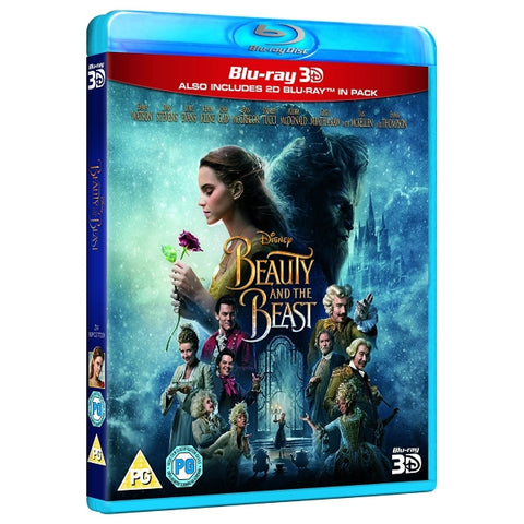 Disney's Beauty and the Beast 3D Live Action [3D + 2D Blu-Ray]