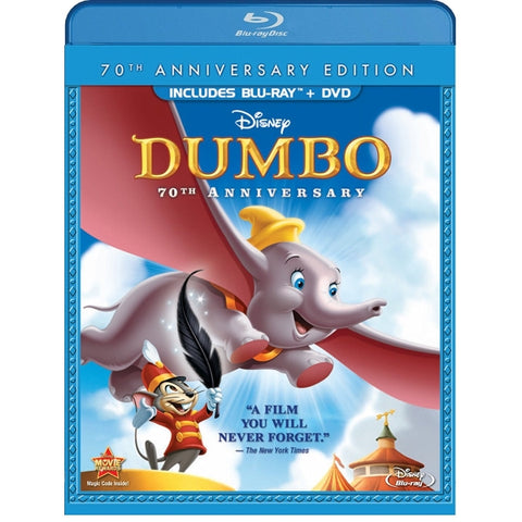 Disney's Dumbo - 70th Anniversary Edition [Blu-Ray]