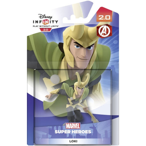 Disney Infinity 2.0 Marvel Super Heroes Loki [Cross-Platform Accessory]