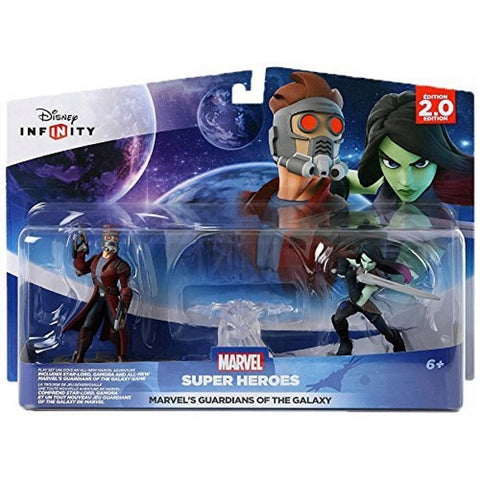 Disney Infinity 2.0 Marvel Super Heroes Guardians of the Galaxy Play Set - Star-Lord & Gamora [Cross-Platform Accessory]