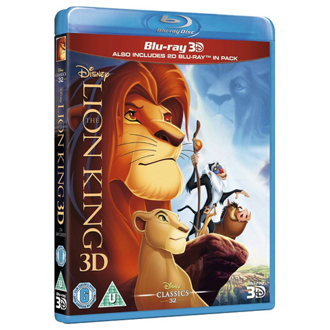 Disney's The Lion King 3D [3D + 2D Blu-Ray]