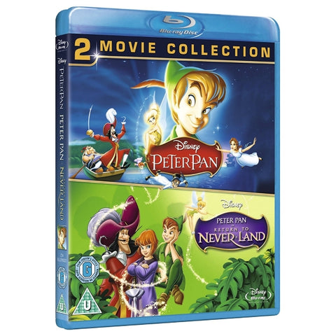 Disney's Peter Pan / Peter Pan in Return to Never Land [Blu-Ray 2-Movie Collection]