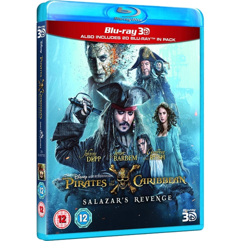 Disney's Pirates of the Caribbean: Salazar's Revenge [3D + 2D Blu-Ray]